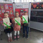 """Podsumowanie konkursu SKO kl. I-IV na """"Najpiękniejszą kartkę walentynkową""""."""